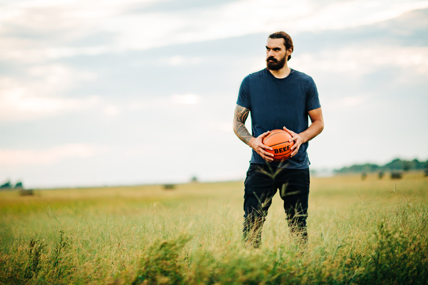 OKLAHOMA CITY BASKETBALL STAR, STEVEN ADAMS, PARTNERS WITH THE OKLAHOMA BEEF COUNCIL